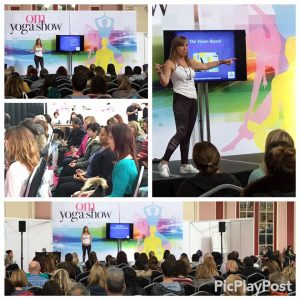 Yoga Show 2015 speaking